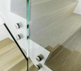 group ceyssens glass balustrade stairs panels glass banister